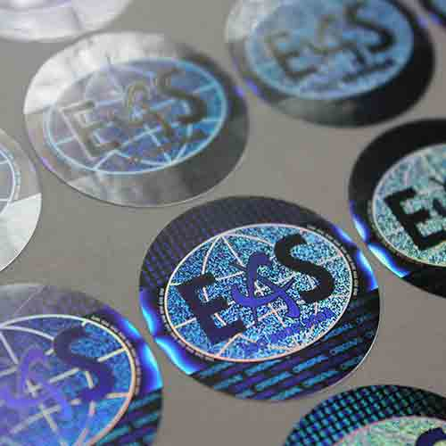 High Security Hologram Stickers