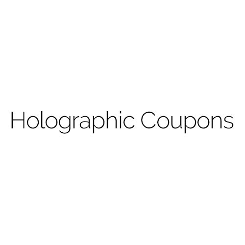 Holographic Coupons